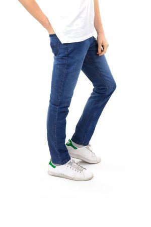 Jeans Denim Italien Bleu