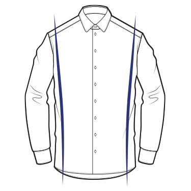 Les chemises : Les coupes